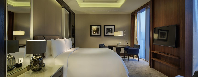 Hilton Istanbul Bomonti Hotel & Conference Center, Turchia - Camera da letto principale della Suite Ambassador