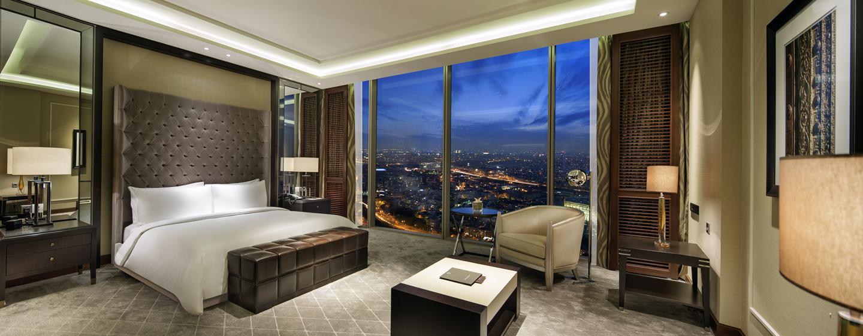 Hilton Istanbul Bomonti Hotel & Conference Center, Turchia - Camera da letto principale della Suite Presidenziale