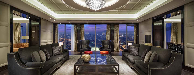 Hilton Istanbul Bomonti Hotel & Conference Center, Turchia - Soggiorno della Suite Presidenziale