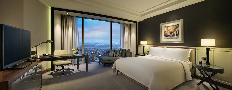 Hilton Istanbul Bomonti Hotel & Conference Center, Turchia - Camera Standard con letto king size