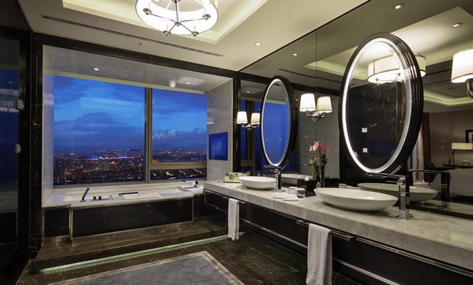 Hilton Istanbul Bomonti Hotel & Conference Center, Turchia - Bagno della Suite Ambassador