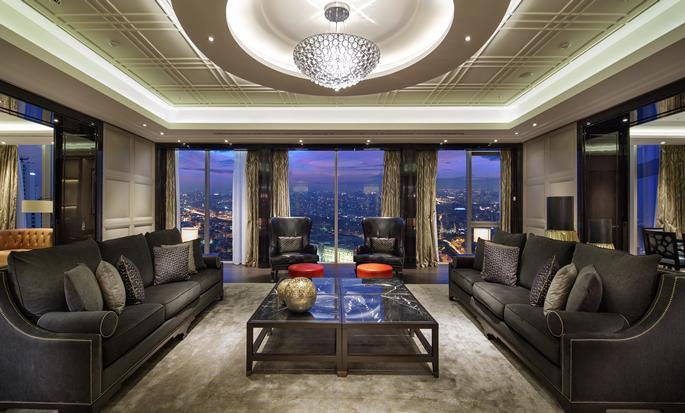 Hilton Istanbul Bomonti Hotel & Conference Center, Turchia - Soggiorno della Suite Presidential