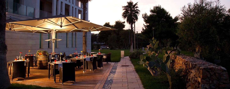 Hotel Hilton Garden Inn Lecce, Italia - Cortile esterno