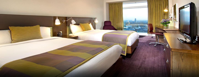 Hotel Hilton London Metropole, Regno Unito - Camera Hilton Superior con letto queen size