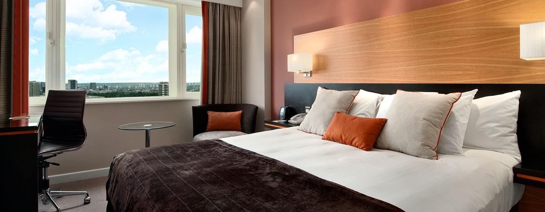 Hotel Hilton London Metropole, Regno Unito - Camera Hilton Deluxe con letto king size