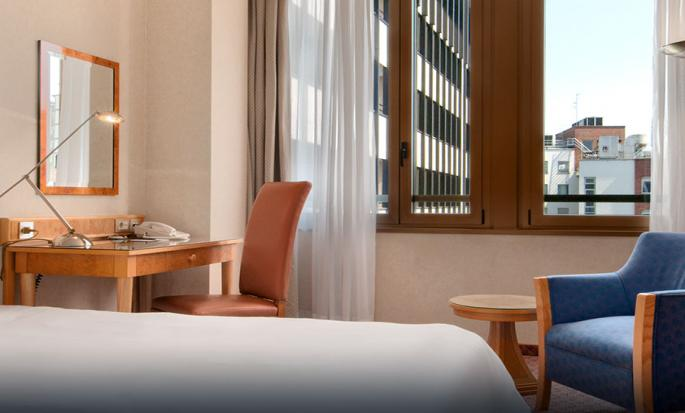 Hotel hilton milan italia camera singola for Hilton hotel italia