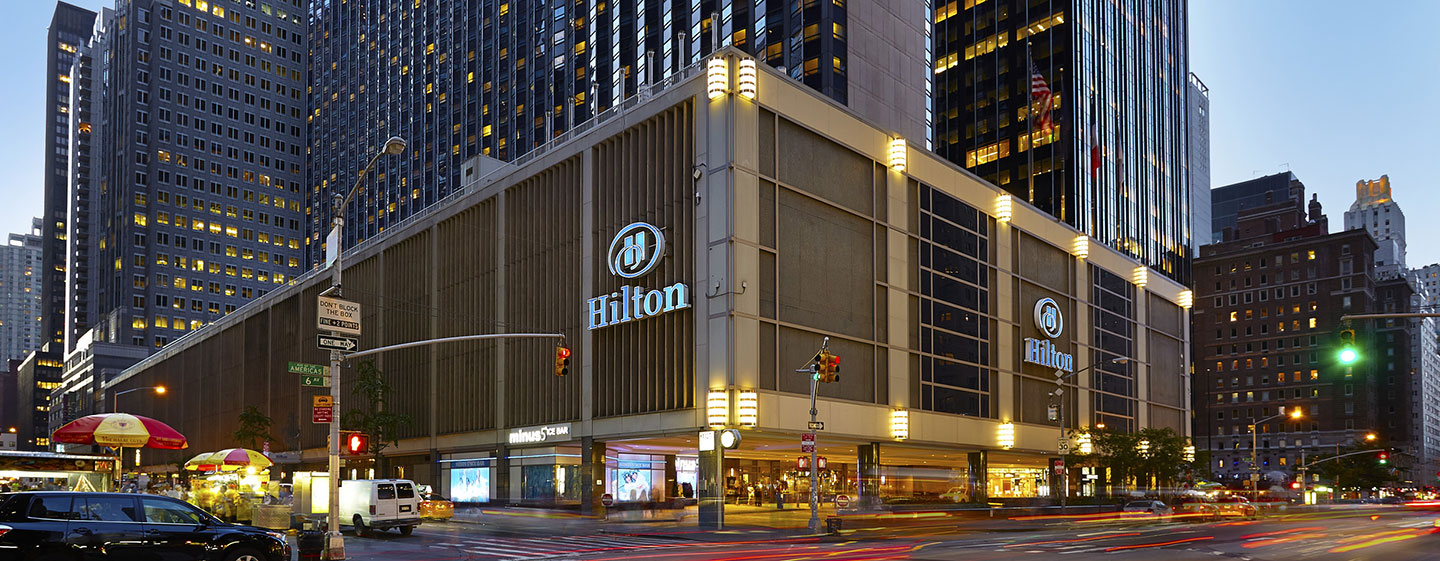 Hotel a New York - New York Hilton Midtown, Hotel a ...