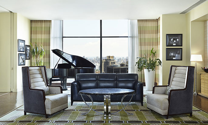 Hotel New York Hilton Midtown, Stati Uniti - Suite Penthouse