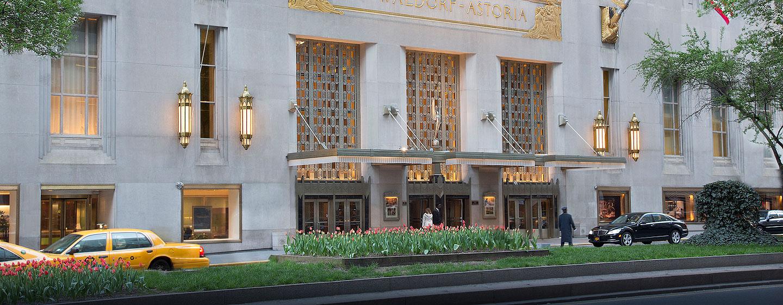 Hotel Waldorf Astoria New York, Stati Uniti - Esterno dell'Hotel