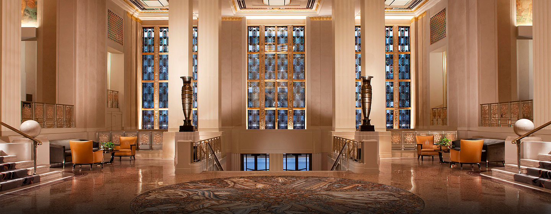Hotel Waldorf Astoria New York, Stati Uniti - Lobby