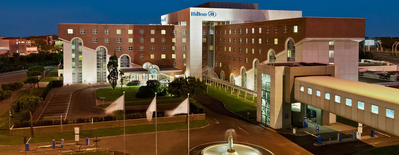 Hotel all 39 aeroporto di roma hotel hilton rome airport for Hilton hotel italia