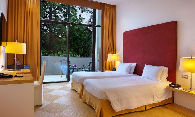 Hilton Sorrento Palace, Italia - Camera Hilton con letti separati e vista sul giardino