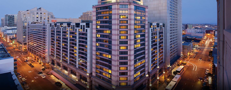 Hotel Hilton San Francisco Union Square, Stati Uniti - Esterno dell'Hotel