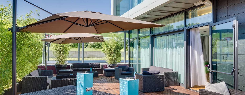 Hotel Hilton Garden Inn Venice Mestre San Giuliano, Italia - Terrazza del bar