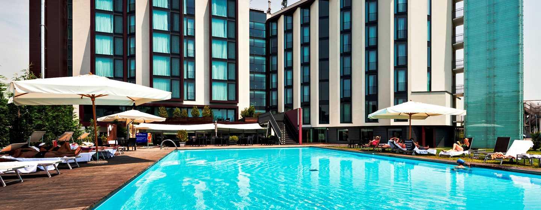 Hotel Hilton Garden Inn Venice Mestre San Giuliano, Italia - Piscina esterna dell'hotel