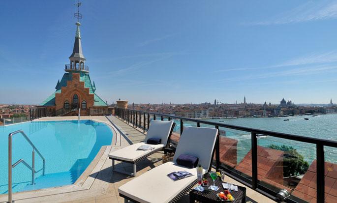 Hotel Hilton Molino Stucky Venice, Italia - Piscina esterna